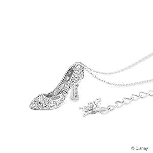 ディズニー グッズ シンデレラ ネックレス ガラスの靴 ダイヤモンド PT950 ケイウノ 正規品 送料無料