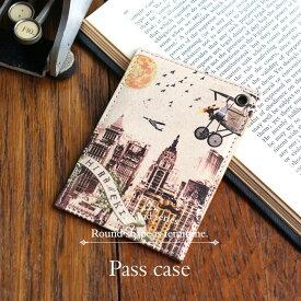 メール便発送★パスケース 定期入れ ◆ラウンド シティ【HIRAMEKI./ヒラメキ】
