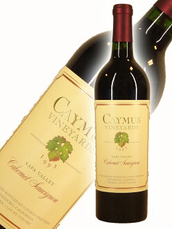 K鱒魚·vinyazukaberune·sovinyon·納帕溪谷[1995]Caymus Vineyards Cabernet Sauvignon Napa Valley