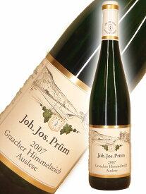 ヨハン・ヨーゼフ・プリュム グラーハー・ヒンメルライヒ・アウスレーゼ[2007]【750ml】Joh. Jos. Prum Graacher Himmelreich Auslese