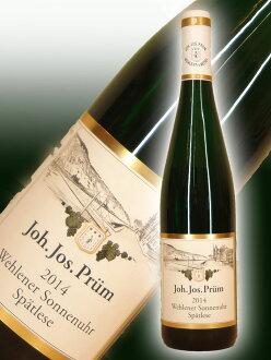 Johan Josef プリュムヴェーレンナー ゾンネンウァーリースリング シュペートレーゼ [2014]Joh Jos Prum Wehlener Sonnenuhr Riesling Spatlese