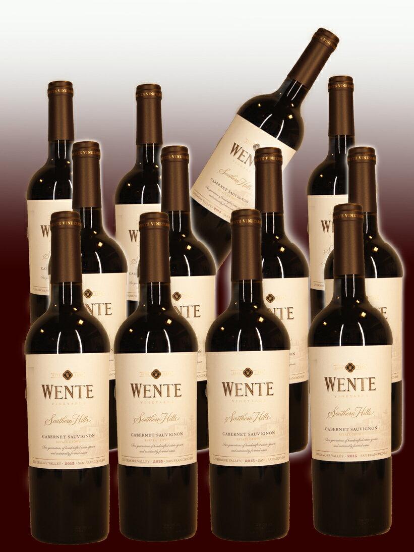 ウェンテ・ヴィンヤーズ セレクション・サウザンヒルズ・カベルネソーヴィニヨン [2015]【750ml】12本セットWente Vineyards Selection Southern Hills Cabernet Sauvignon12