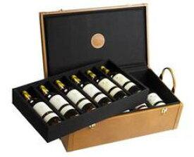 シャトー・ディケム・コレクション・12本セット【750ml】【皮革職人アレクサンドル・マルイユ製特別レザーケース付き】 Chateau D'Yquem Collection 12 Bottles Set