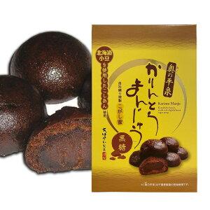 【千葉恵製菓】 奥の平泉 黒糖かりんとうまんじゅう10個入【黒糖】