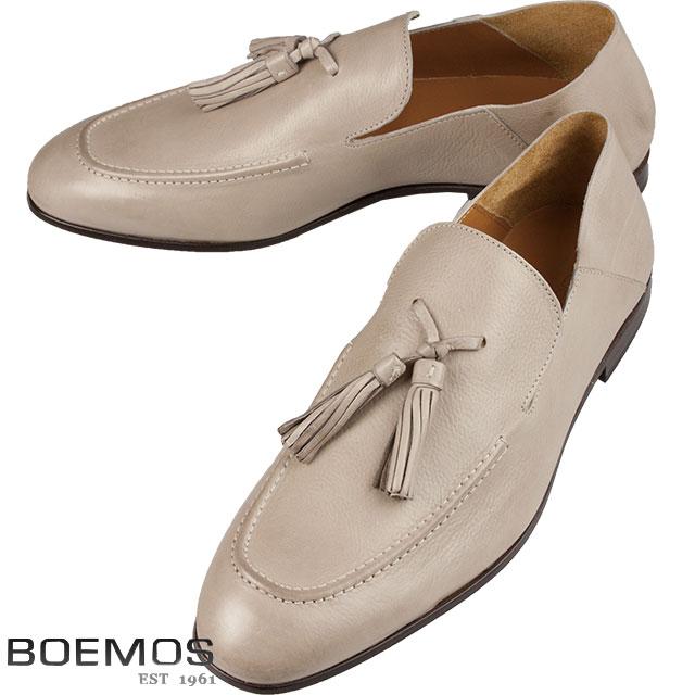 BOEMOS ボエモス メンズ タッセル レザーシューズ TA186301 A PIOPPINO