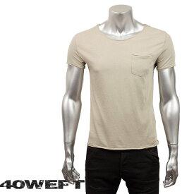 40WEFT フォーティー ウエフト メンズ 半袖クルーネックTシャツ PATRICK 19114 2693 32 グレー