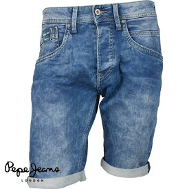 Pepe Jeans ぺぺジーンズ メンズ デニムハーフパンツ TRACK SHORT PM800487Z72 000 DENIM