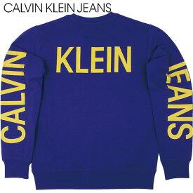 CALVIN KLEIN JEANS カルヴァン クライン ジーンズ メンズ トレーナー J310343 497 パープル