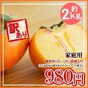 【予約】山形産 庄内柿(しょうないがき) 訳あり約2キロ  わけあり