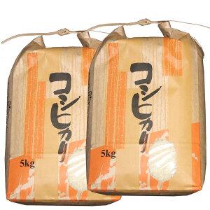 (令和2年産米)(随時発送)(送料無料)山形県産コシヒカリ白米10kg(5kg×2) 【安全で確かなものを食卓へ】艶・甘み抜群 白米 10キロ(十キロ) お米(おこめ)