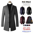 チェスターコート スタンドカラー 中綿コート 中綿ジャケット ウールコート テーラードジャケット ロングコート ロン…