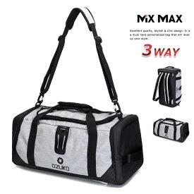 ボストンバッグ ダッフルバッグ リュックサック ショルダーバッグ メンズ 旅行 バッグ スポーツバッグ バックパック 斜め掛け ジムバッグ 大容量 耐水 撥水 リュック 3WAY