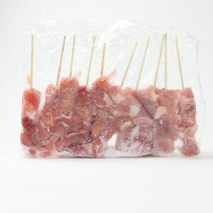 国産鶏肉冷凍モモ串40g×10本【とり肉】【もも】【焼鳥】