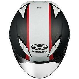 オージーケーカブト OGK KABUTO ジェットヘルメット AVAND-2 ESCAPE フラットブラックホワイトレッド Sサイズ 4966094560621 HD店