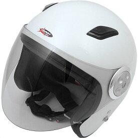 【メーカー在庫あり】 スプーン SPOON ヘルメット パイロット パールホワイト フリー (58cm-60cm) (ロングシールド) SPJ-9102S HD店