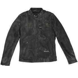 ライズ RIDEZ レザージャケット ACE 黒/ブラウン Sサイズ RLJ100A-S HD店