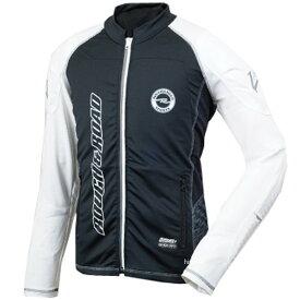 ラフ&ロード 春夏モデル アーマージャケット パッドセット 黒/白 Lサイズ RR7550PSBK/WH3 HD店