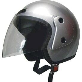 【メーカー在庫あり】 モトボワットBB Moto Boite オープンフェイスヘルメット シルバー フリーサイズ(58-60cm未満) 079122006 HD店