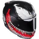 HJH112RE01XL エイチジェイシー HJC フルフェイスヘルメット MARVEL RPHA 11 ベノム VENOM XLサイズ(61 -62cm未満)