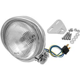 ハリケーン アメリカン系 ヘッドライトキット 5.5ベーツバイザータイプ ヘッドライト ・スティード400/ HA5629-01 HD店