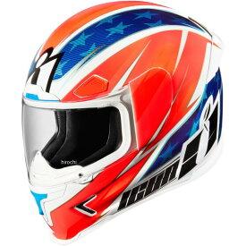 【USA在庫あり】 アイコン ICON フルフェイスヘルメット Airframe Pro MAX Flash グローリー Lサイズ 0101-10159 HD店
