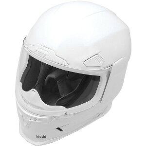 【USA在庫あり】 アイコン ICON フルフェイスヘルメット AIRFRAME PRO 白 3XLサイズ (65cm-66cm) 0101-8036 HD店
