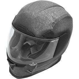【USA在庫あり】 アイコン ICON フルフェイスヘルメット Airframe Pro コンストラクト/黒 2XLサイズ (63cm-64cm) 0101-8014 HD店