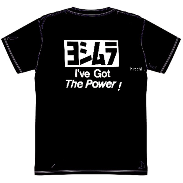 ヨシムラ ドライ チームTシャツ 黒 XLサイズ 900-217-93XL HD店