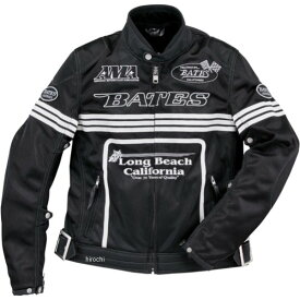 ベイツ BATES 春夏 2Wayメッシュジャケット 黒 XXLサイズ BJ-M1812RS HD店