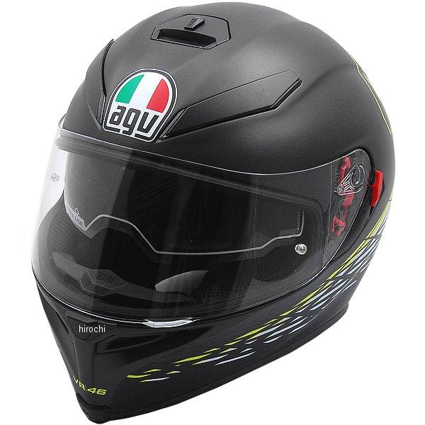 【メーカー在庫あり】 エージーブイ AGV フルフェイスヘルメット K-5 S TOP THORN 46 マットブラック/白/黄 XLサイズ (61-62cm) 004190HY-001-XL HD