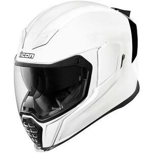 【USA在庫あり】 アイコン ICON フルフェイスヘルメット AIRFLITE Gloss 白 3XLサイズ(65cm-66cm) 0101-10867 HD店