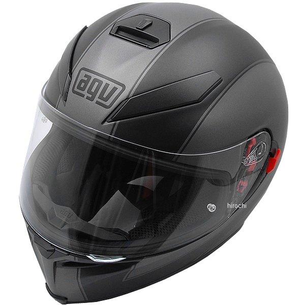 【メーカー在庫あり】 エージーブイ AGV フルフェイスヘルメット K-5 S MULTI ENLACE 黒/マットグレー Lサイズ (59-60cm) 004192HF-004-L HD