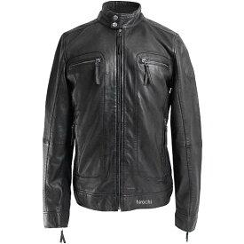ライズ RIDEZ レザージャケット CLUBS ランプブラック Mサイズ RLJ202-M HD店