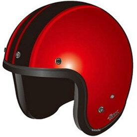 オージーケーカブト OGK Kabuto ヘルメット FOLK G1 シャイニーレッドブラック 57-59cm 4966094551537 HD店
