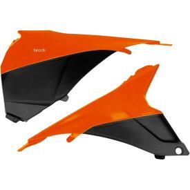 【USA在庫あり】 サイクラ CYCRA エアボックスカバー オレンジ KTM 120231 HD店