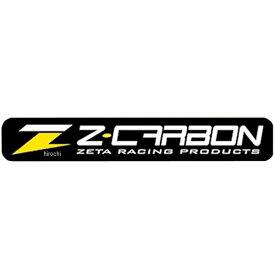 【メーカー在庫あり】 ジータ ZETA Z-CARBON ステッカー 100x16mm 黒/黄 ZC50-0110 HD店