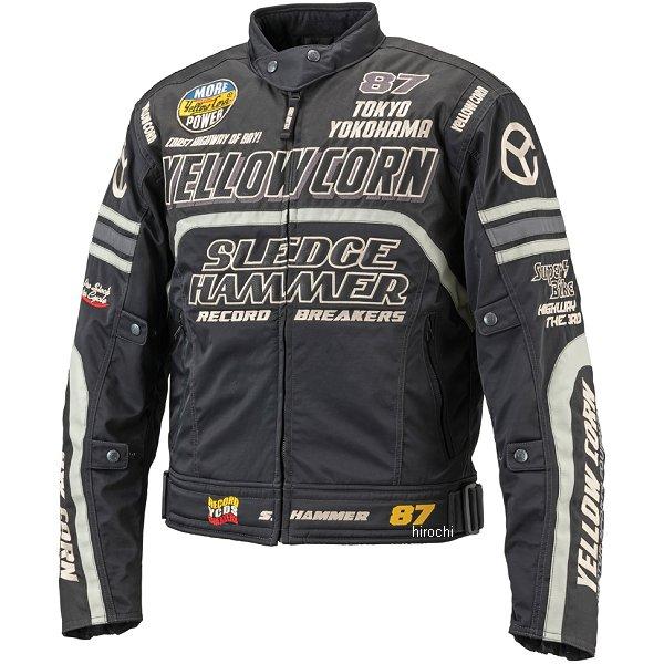 イエローコーン YeLLOW CORN 2018年秋冬モデル ウインタージャケット 黒/黒 Lサイズ BB-8307 HD店