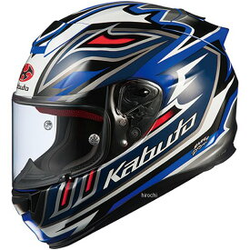【メーカー在庫あり】 オージーケーカブト OGK KABUT フルフェイスヘルメット RT-33 SIGNAL 青 Mサイズ 4966094577285 HD店