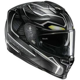 【メーカー在庫あり】 エイチジェイシー HJC フルフェイスヘルメット MARVEL RPHA70 ブラックパンサー BLACK PANTHER Lサイズ(59-60cm) HJH140BK01L HD店