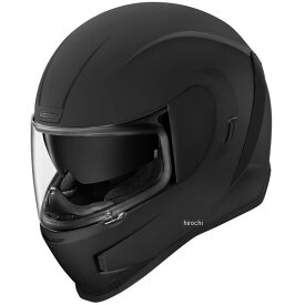 アイコン ICON フルフェイスヘルメット AIRFORM ラバーブラック XLサイズ 0101-12097 HD店