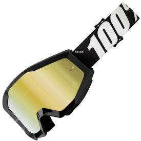 【USA在庫あり】 100パーセント 100% ゴーグル Strata MX Outlaw 黒/ゴールドミラーレンズ/黒 白 グレーストラップ 954561 HD店