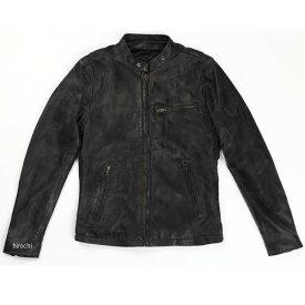 RLJ100 ライズ RIDEZ ジャケット ACE 黒/茶 2XLサイズ 4527625105980 HD店