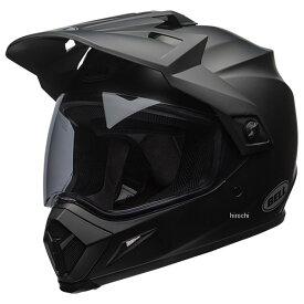 【メーカー在庫あり】 ベル BELL オフロードヘルメット MX-9 アドベンチャー MIPS ソリッド マットブラック Lサイズ(59cm-60cm) 7081263 HD店