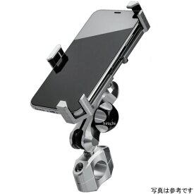 サインハウス マウントシステム ABC-6 M8シリーズ スマホ ユニバーサルホルダー タイプ4 22.2mm シルバー 00081612 HD店