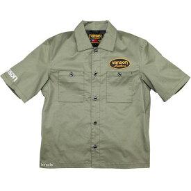 バンソン VANSON 2020年春夏モデル ワークシャツ カーキ L2Wサイズ VS20108S HD店