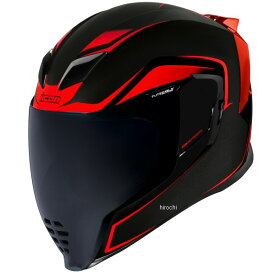 0101-13427 アイコン ICON 2020年秋冬モデル フルフェイスヘルメット AIRFLITE CROSSLINK 赤 Mサイズ 0101-13429 HD店