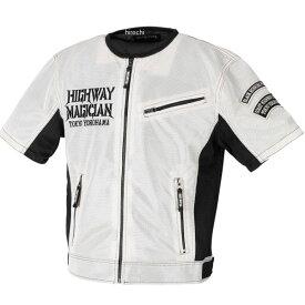 イエローコーン YeLLOW CORN 2021年春夏モデル メッシュTシャツ アイボリー/黒 LLサイズ YMT-003 HD店