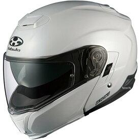 【メーカー在庫あり】 オージーケーカブト OGK Kabuto ヘルメット イブキ パールホワイト Mサイズ(57cm-58cm) 4966094550769 HD店