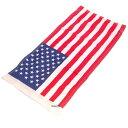 4265クリアキン交換用アメリカ国旗のみサドルバッグガードマウント用230mmX460mm