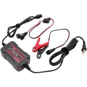 【メーカー在庫あり】 AZ エーゼット バッテリー充電器 ワニ口クリップ 車両側ケーブル付き 12V ACH-100 HD店